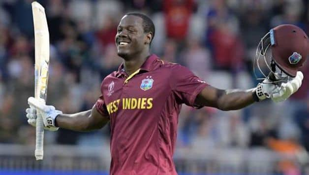 Carlos Brathwaite fined for showing dissent from umpire's decision