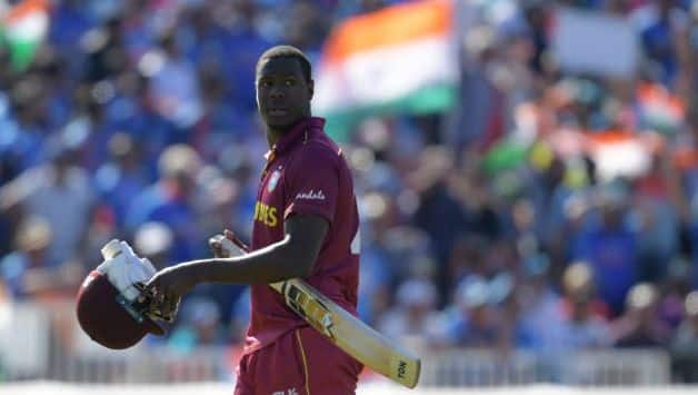 Cricket World Cup 2019: Carlos Brathwaite fined 15 percent match fee for showing dissent