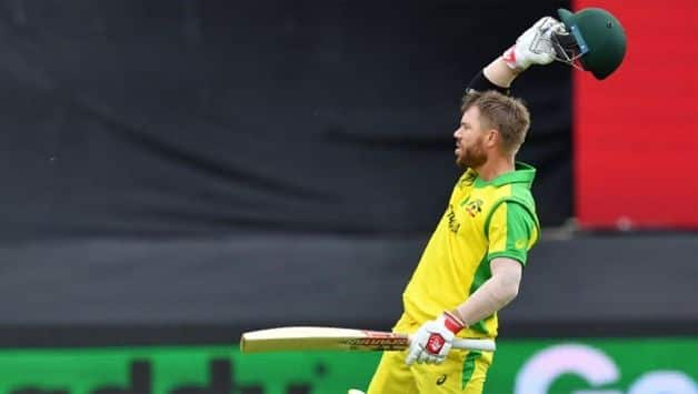 Cricket World Cup 2019: Amir five-for after Warner hundred limits Australia to 307