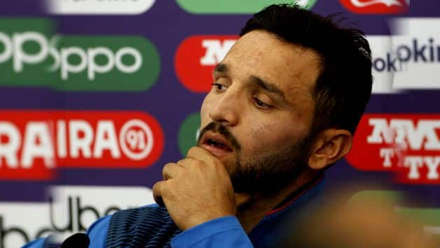 ICC CRICKET World Cup 2019: Afghanistan captain Gulbadin Naib rues missed chance to beat Indian team