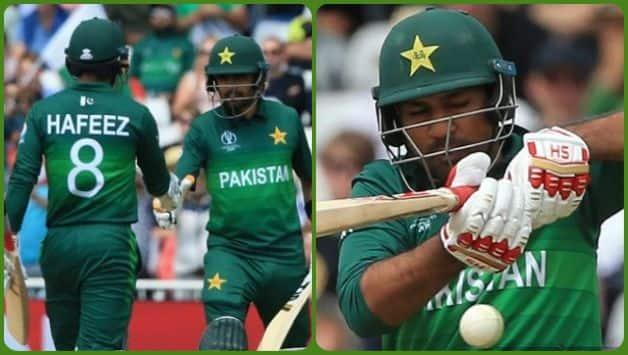 Mohammad Jafeez, Babar Azam, Sarfaraz Ahmed, England vs Pakistan, ICC Cricket World Cup 2019