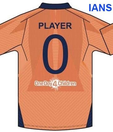 Indian cricket team orange jersey icc world cup 2019