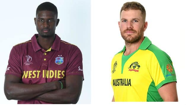 ICC World Cup 2019: Australia vs West Indies, 10th match, Aaron Finch vs Jason Holder