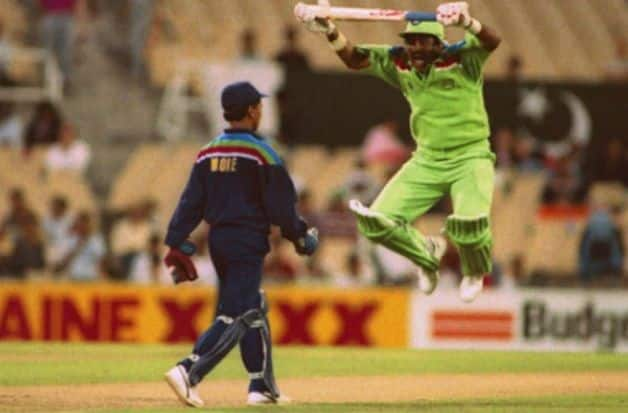 Javed Miandad, Kiran More, India vs Pakistan, 1992 World Cup, India, Pakistan