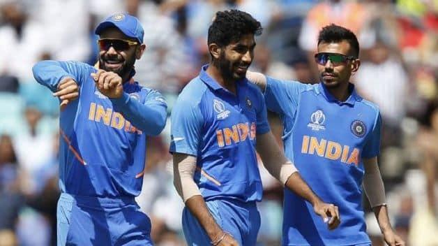 Virat Kohli, Jasprit Bumrah, Yuzvendra Chahal, India, ICC Cricket World Cup 2019