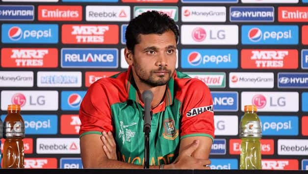 ICC World Cup 2019: I'm sure some people don't think well of our cricket, says Mashrafe Mortaza
