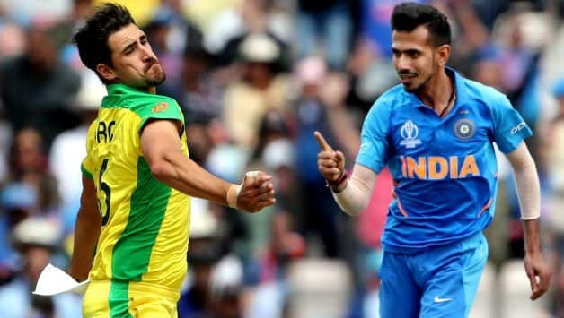 ICC Cricket World Cup 2019 : Mitchell Starc top on leading wicket-taker list, Yuzvendra Chahal only spinner in top 10
