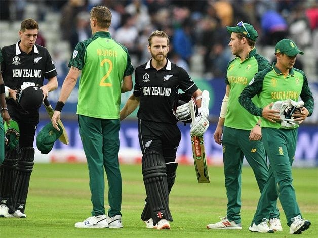 New Zealand vs South Africa, Kane Williamson, Colin de Grandhomme, New Zealand, South Africa, World Cup, ICC World Cup 2019
