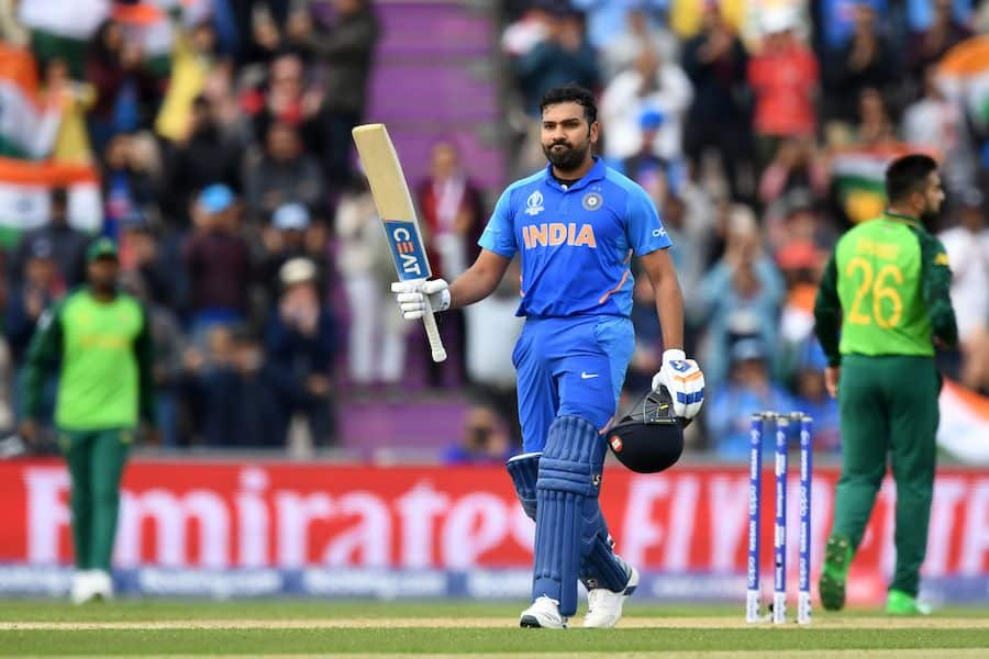 Cricket World Cup: Rohit Sharma's 122* guides India to six-wicket win over South Africa at Southampton