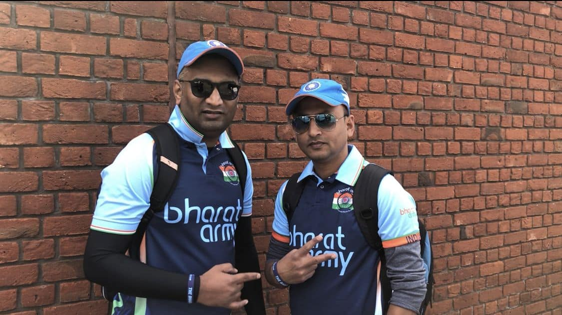 Indian cricket fans USA