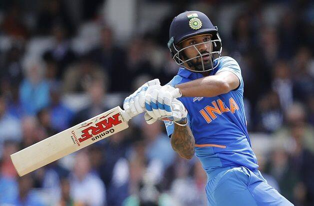 India vs Australia: Shikhar Dhawan got injured during batting, couldn't come for fielding