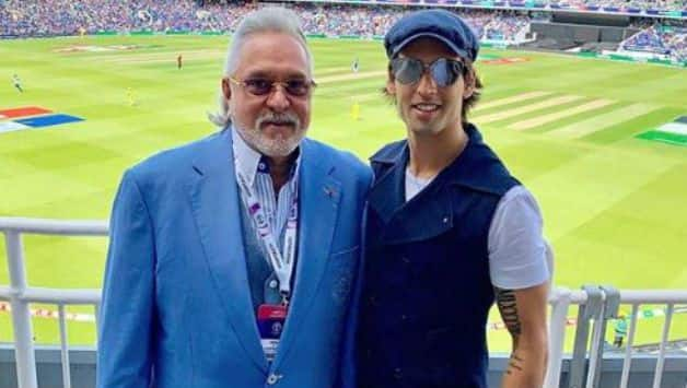 Vijay Mallya spotted at India vs Australia ICC Cricket World Cup game in London
