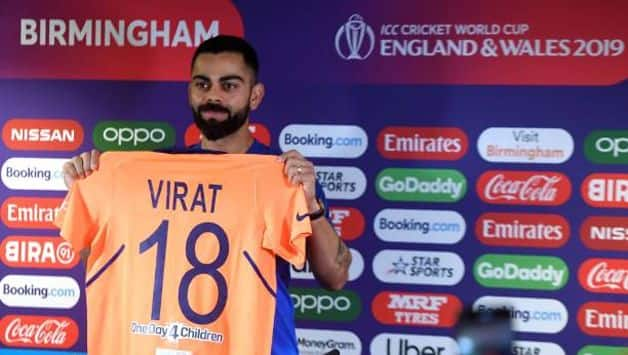 It's a nice change but blue has always been our colour: Virat Kohli on India's away kit
