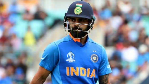 'Not-out' Virat Kohli walks back to pavilion without waiting for umpire's decision against pakistan
