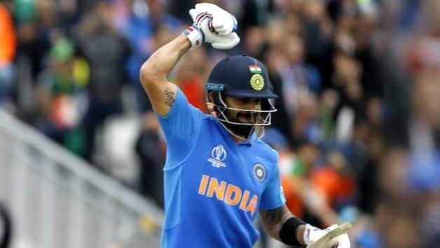 ICC CRICKET WORLD CUP 2019: Virat Kohli becomes quickest to reach 11,000 ODI runs.