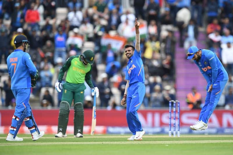 Cricket World Cup 2019: Yuzvendra Chahal helps India keep South Africa to 227