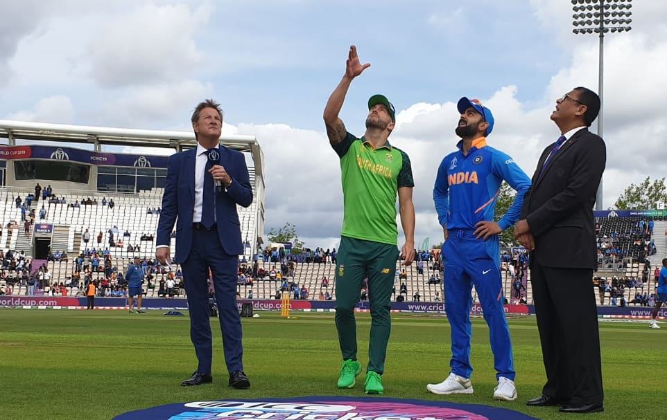 World Cup 2019, IND vs SA: Virat Kohli clears air on losing toss