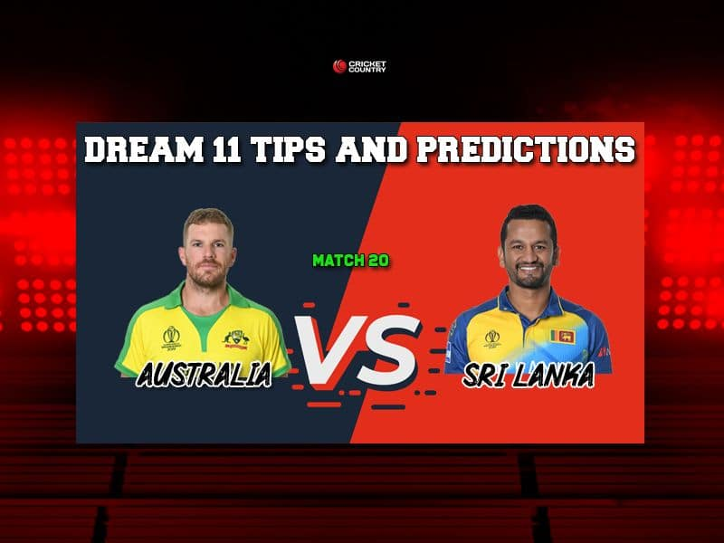AUS vs SL Dream11 Prediction LIVE: Best Playing XI Players to Pick for Today's Match between Australia and Sri Lanka at 3 PM