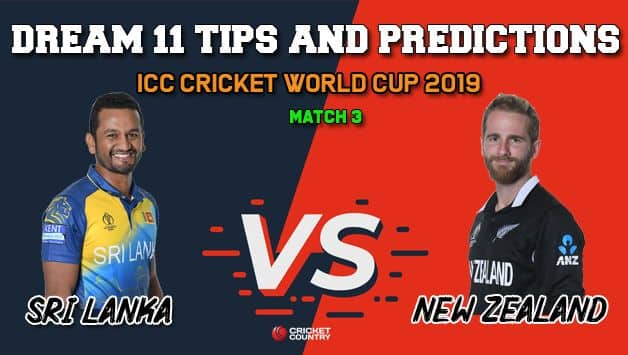 Dream11 Prediction: SL vs NZ, Cricket World Cup 2019, Match 3 Team Best Players to Pick for Today's Match between Sri Lanka and New Zealand at 3 PM