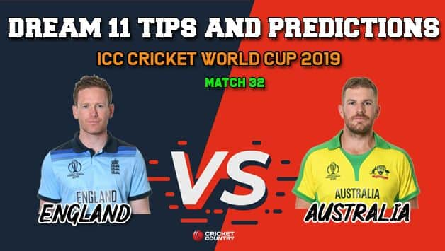 ENG vs AUS Dream11 Prediction, Cricket World Cup 2019: Best Playing XI Players to Pick for Today's Match between England and Australia at 3 PM