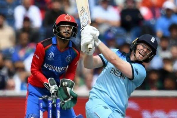 Morgan fires as England thump AFG