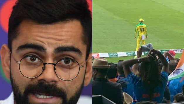 World Cup 2019: Virat Kohli explains why he stop Indian fans from booing Steven Smith