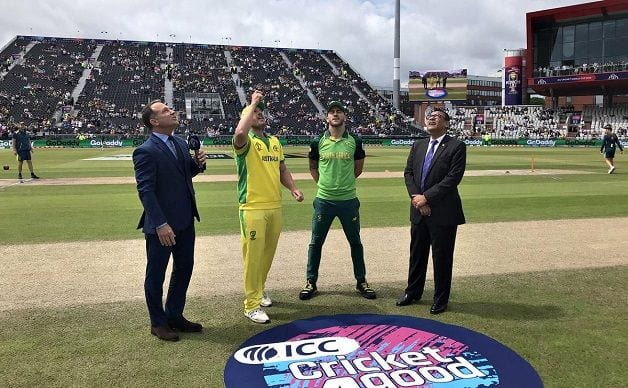 Australia vs South Africa, Australia, South Africa, Faf du Plessis, Aaron Finch, ICC World Cup 2019, World Cup