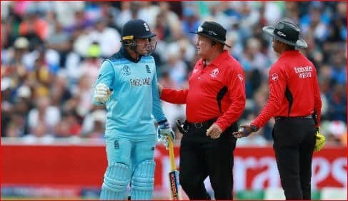 England vs Australia, 2nd semi Final: Jason Roy fined for showing dissent to the umpire decision