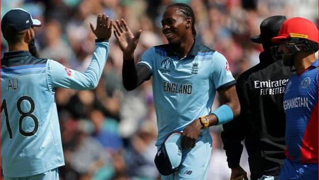 Jofra Archer was unable to play without painkillers during the World Cup