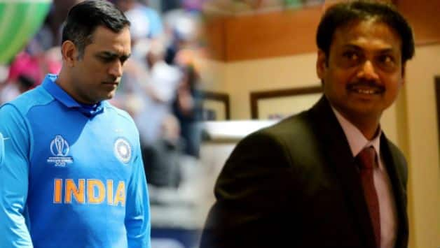 A legendary cricketer like Dhoni, he knows when to retire: MSK Prasad