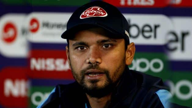 ICC CRICKET World Cup 2019: India vs Bangladesh, Mashrafe Mortaza urges Bangladesh to raise game against India
