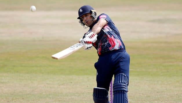 Vitality Blast: Mohammad Nabi 12 ball 43 run inning guide Kent to 9 wicket win against surrey