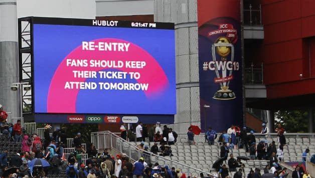 ICC Cricket World Cup 2019: If No play happens on reserve day then India will reach the final
