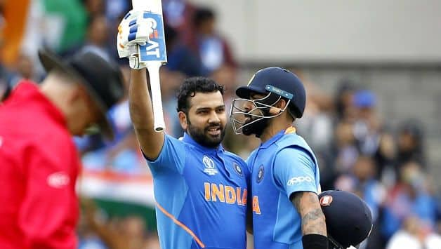 ICC CRICKET World Cup 2019: Hope Rohit Sharma scores 2 more hundreds, says Virat Kohli