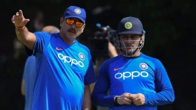 Cricket World Cup 2019: To counter spin, MS Dhoni turns to Ravi Shastri for advice