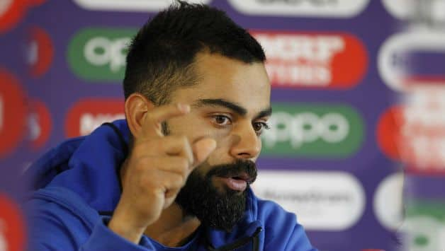 Don't remember the last time I stepped onto field without pressure says Virat Kohli
