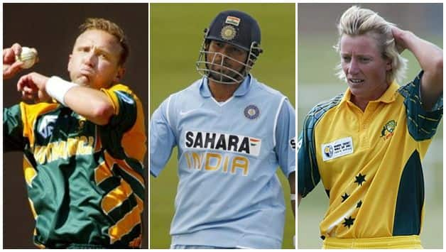 Sachin Tendulkar, Allan Donald and Cathryn Fitzpatrick inducted into ICC Hall of Fame