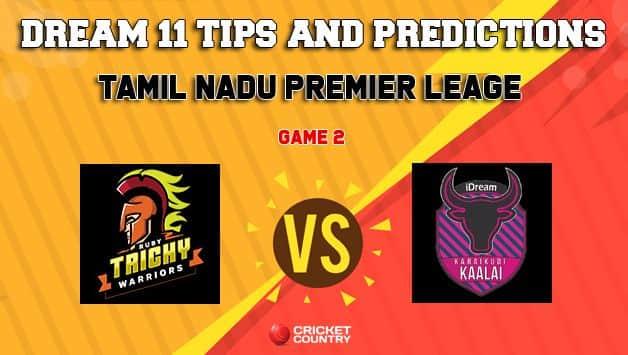 Dream11 Team Ruby Trichy Warriors vs Idream Karaikudi Kaalai Match 2 TNPL – Cricket Prediction Tips For Today's T20 Match RUB vs KAR at NPR College Ground, Dindigul