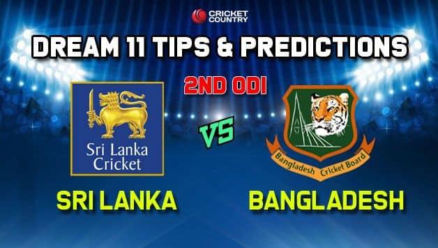 Dream 11 team BAN vs SL, 2nd ODI, Sri Lanka vs Bangladesh ODI – Cricket Prediction Tips For Today's Match BAN vs SL at Colombo