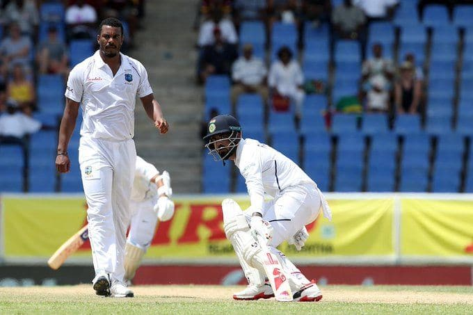India vs West Indies, Antigua Test: KL Rahul & Ajinkya Rahane take India to 68/3 at Lunch on Day 1