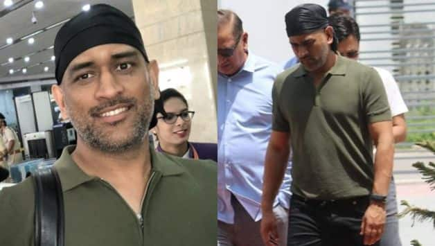 Photo: MS Dhoni back from his army stint with new look