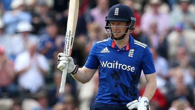 T20 Blast: Eoin Morgan's stunning fifty lead Middlesex to quarter-final