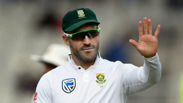 India vs South Africa: Faf Du Plessis to captain in Test during India Tour