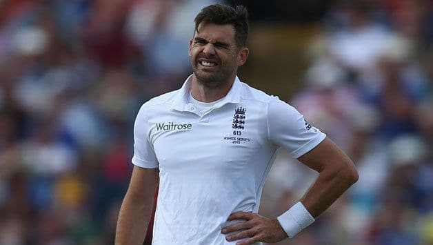 James Anderson ruled out for rest of Ashes, Craig Overton recalled