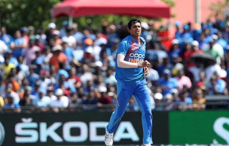 India vs West Indies Navdeep Saini fined for breaching ICC Code of Conduct in 1st T20I