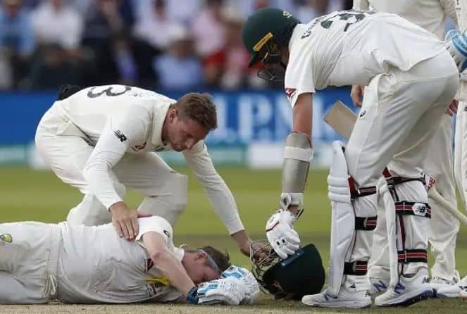 The Ashes 2019, Lord's Test: Steve Smith got injured on Jofra Archer bouncer