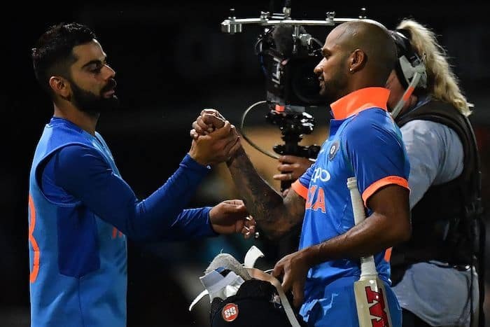 India vs West Indies 2019: Virat Kohli 'not concerned at all' about Shikhar Dhawan's poor T20I scores