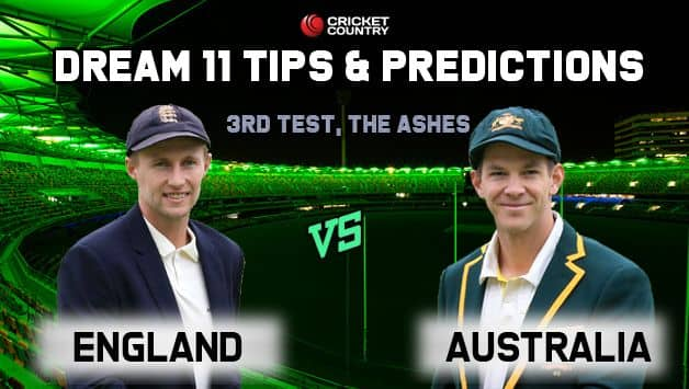 ENG vs AUS Dream11 Team England vs Australia, 3rd Test, The Ashes 2019 – Cricket Prediction Tips For Today's Match ENG vs AUS at Leeds