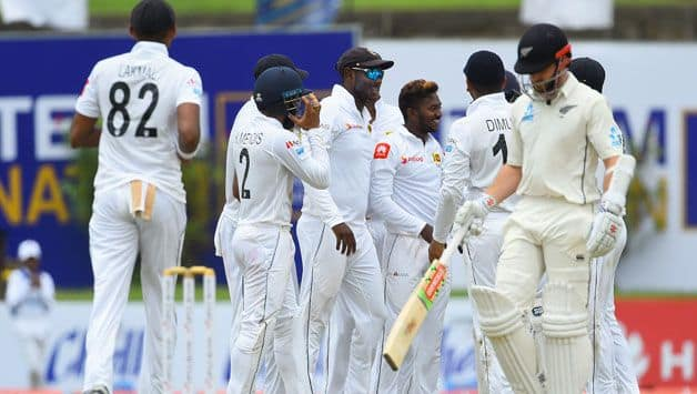 1st Test: Dananjaya's late strikes rock New Zealand after positive start
