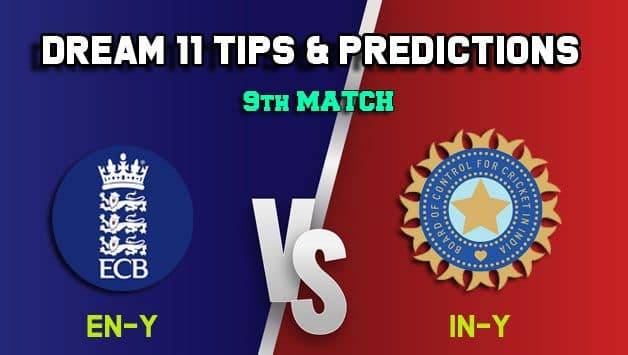 Dream11 Team England U19 vs India U19, Match 9, U-19 Tri-series – Cricket Prediction Tips For Today's match EN-Y vs IN-Y at Chelmsford